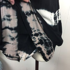 Anama Dresses - Anama Black Sleeveless Tie Dye Dress Medium